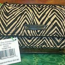 New With Tags Vera Bradley All in One Crossbody for Iphone 6 in Zebra  Photo
