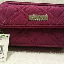 New With Tags Vera Bradley All in One Crossbody for Iphone 6 in Plum Photo