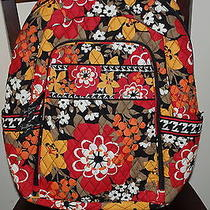 New With Tags Vera Bradley Bittersweet  Laptop Backpack  Photo