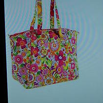 New With Tags Vera Bradley Clementine  Travel Tote Bag Purse Luggage Photo