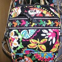New With Tags Vera Bradley Disney  Mini Hipster Midnight With Mickey Photo