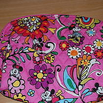 New With Tags Vera Bradley Disney Mousing Around  Large Cosmetic  Pink Photo