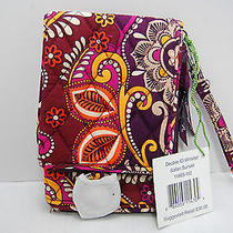 New With Tags Vera Bradley Double Id Wristlet in Safari Sunset Photo