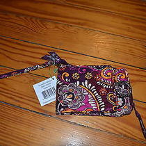 New With Tags Vera Bradley Double Id Wristlet Safair Sunset Nwt Photo