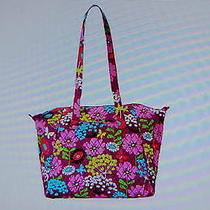 New With Tags Vera Bradley Flutterby  Travel Tote Bag Purse Luggage Photo