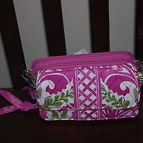 New With Tags  Vera Bradley Julep Tulip All in One Crossbody Wristlet Hipster Photo