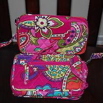 New With Tags Vera Bradley Pink Swirls Smartphone Wristlet 2.0 Photo