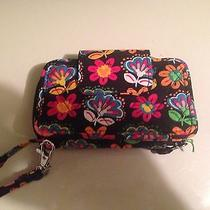 New With Tags Vera Bradley Wristlet in Midnight With Mickey Pattern. Photo