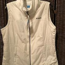 New With Tags White Columbia Cedar Express Vest Size Xl Photo