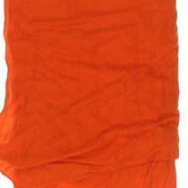 New With Tags Women's Chan Luu Orange 100% Viscose Solid Scarf  Photo
