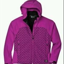New With Tags Women's Dps Patterned Softshell Jacket - Large  Photo
