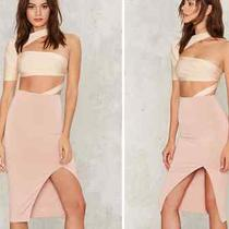 New With Tags Womens Nastygal Skirt Retail 50 Blush Photo