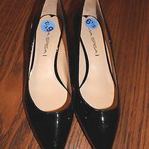New With Tags Womens via Spiga Black Patent Leather Pumps/ Shoes Sz. 6.5m Eur37 Photo
