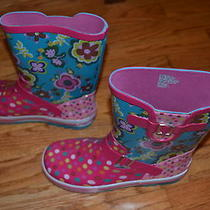 New Without Box Aqua-Stop Rain Boots Size 4 Photo