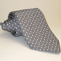 New Without Tags 95 Vineyard Vines Gray Golf Clubs and Balls Silk Tie Photo