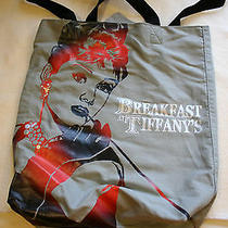 New Without Tags Audrey Hepburn Breakfast at Tiffany's Tote Bag by Radio Days  Photo