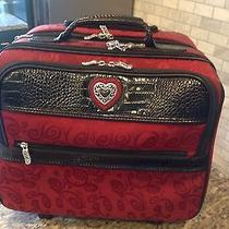 New Without Tags Brighton Carry On/ Computer Case/ Roll Along Luggage Photo