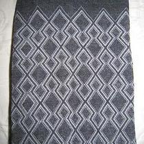New Wolford Eva Cotton Tights Opaque Grey / Ivory Size Medium Photo