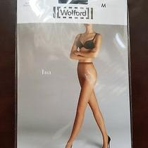 New Wolford Tights Ina Tights Size M Black Photo
