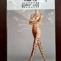 New Wolford Tights Noa Size S Black/black  Photo
