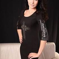 New Women Dress Brand Balenciaga Size S Black Colors Photo