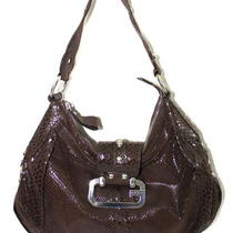 New Women Guess    Snakeskin  Satchel  Handbag  Purse  Photo