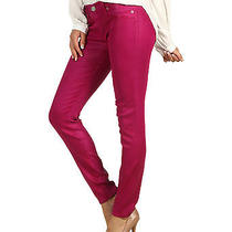New Women Hudson Krista Super Skinny Hot Shot Wax Jeans Size 25 Photo