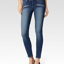 New Women Paige Premium Denim  Jane Zip   Easton W2161   Jeans  27 Photo
