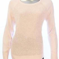 New Women's 1665 Karen Scott Pink Blush Cable Knit Sweater Size Medium Photo