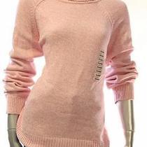 New Women's 3282 Karen Scott Blush Marble Pink Mock Neck Sweater Size Xl Photo