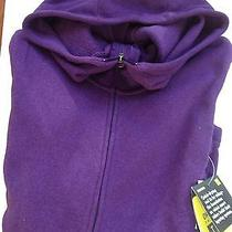 New Women's Burton Wb Hangover Hoodie - Purple Rum Raisin Heather Purple - L Photo