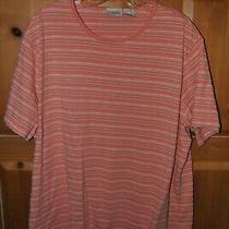 New Women's Classic Elements Orange Striped Top Tunic Size 20-22w Photo