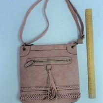 New Women's Delmano Blush Pink Purse Ladies Hand Bag Style Tote Satchel Braids Photo