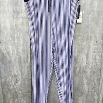 New Womens Donna Karan Sleepwear Blush Striped Long Pj Pants Size 3x Photo