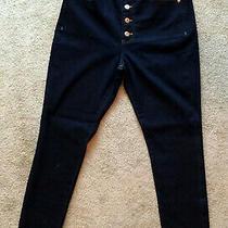 New Women's Express Skinny Super High Rise Jeans Sz 12r  ( Reg. 80.00 ) Photo