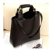 New Women' S Fashion Tote Shopping Bags Adjustable Handmade Handbags 3colors Photo