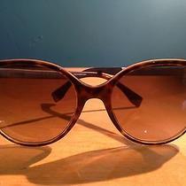 New Women's Fendi Italian Brown Designer Sunglasses Round Havana Pearl 54mm Sun Photo
