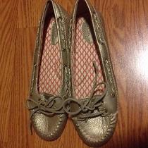New Women's Fossil Boat Shoe Flat Slip on Tennis Shoe Size 9.5 Must See Photo