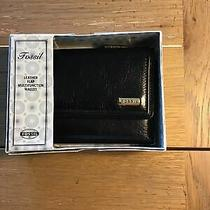 New Women's Fossil Leather Multifunction Wallet Photo