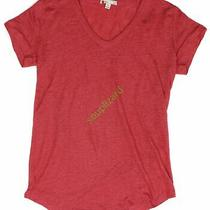 New Women's Gap Maternity Linen v-Neck Top Tee Nwot Coral Size Small Photo