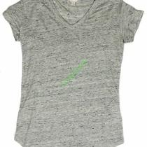 New Women's Gap Maternity Linen v-Neck Top Tee Nwot Gray Grey Size  Xs Photo