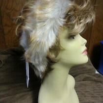 New Women's Gray Faux Fur Headband/scarf by Surell One Size Photo