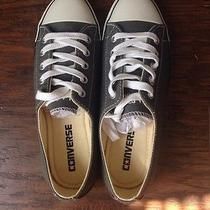 New Women's Gray Low Top Converse Size 5 Photo