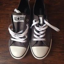 New Women's Gray Low Top Converse Size 6 Photo