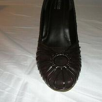 New Women's Guess by Marciano Size 8 Dark Brown Suede High Heel Shoe Photo