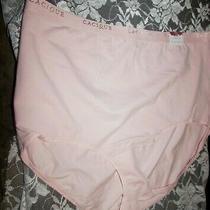 New Women's Lane Bryant Cacique Blush Pink High-Waist Brief Panties 18 20 1x Photo