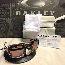 New Women's Oakley Overtime Sunglasses Rose Quartz W/oo Grey Polarized Oo9167-14 Photo