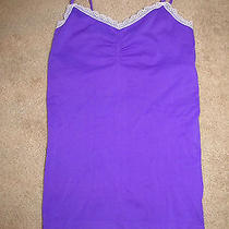New Women's Purple Victoria's Secret Cami Camisole Size M Womens Photo