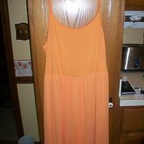 New Women's Size Large Kensie Cantaloupe Dress From Macy's Photo