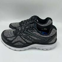 New Women's Sneakers Saucony Ride 9 Lr Running Grey Black Shoes Sz 6.5 Photo